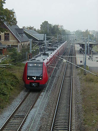 Gentofte station - Image: Gentofte Station 1