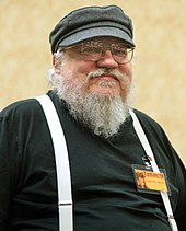 George R. R. Martin at an event in Tucson, Arizona