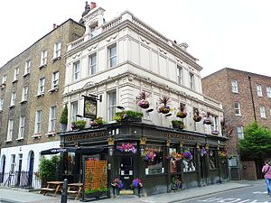 George and Dragon, Fitzrovia - George and Dragon, Fitzrovia