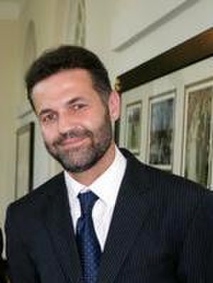 Khaled Hosseini - Khaled Hosseini at the White House in 2007