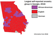 Demographics Of Georgia U S State Wikipedia