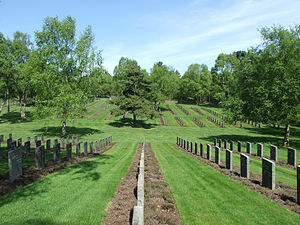 Cannock Chase German Military Cemetery - Image: German WWI War Cemetery, Cannock Chase, England