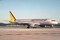 Germanwings Airbus A320-211; D-AIQR, May 2003 (5887988472).jpg