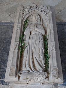 Gjertruds grav i klosterkirken i Altenberg