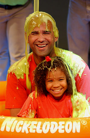 Gunge - A family gets slimed at Nickelodeon Suites Resort Orlando