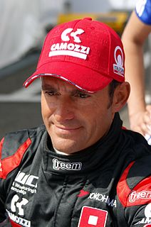 Gianni Morbidelli Italian racing driver