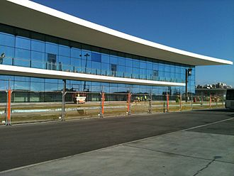 Gibraltar International Airport - New airport nearing completion in 2011