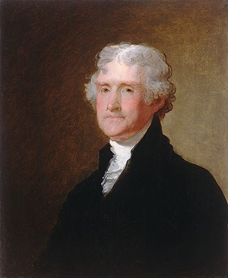 Jefferson's Birthday - Image: Gilbert Stuart Thomas Jefferson