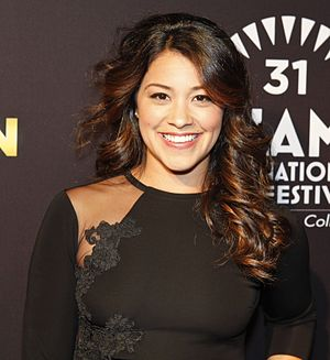 Gina Rodriguez - Gina Rodriguez at the Miami premiere of Filly Brown