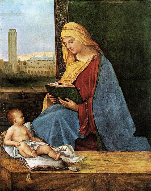 Madonna leggente