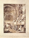 Giovanni Antonio Canal, il Canaletto - San Marco - the Crossing and North Transept, with Musicians Singing - WGA03991.jpg