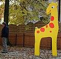 Giraffe, st ZOO, Poznan.JPG