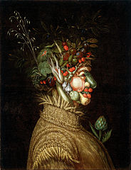 Allegorical Portrait- \