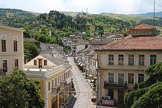 Gjirokastër - Image: Gjirokaster 2016 2017