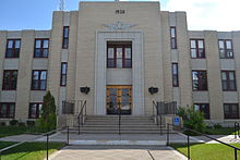 Glacier County Courthouse in Cut Bank, Montana.JPG