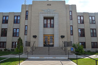 Glacier County, Montana - Image: Glacier County Courthouse in Cut Bank, Montana