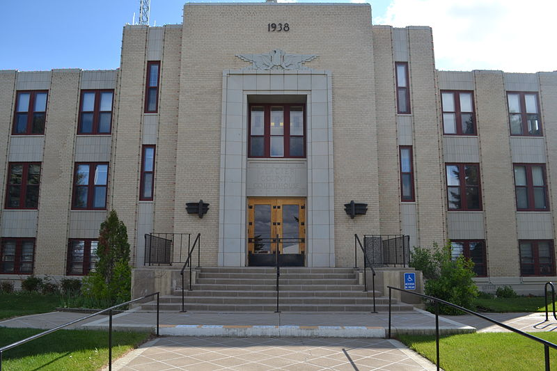 پرونده:Glacier County Courthouse in Cut Bank, Montana.JPG
