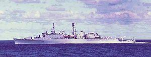 HMS Glamorgan (D19) - HMS Glamorgan