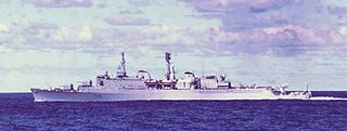 HMS <i>Glamorgan</i> (D19) County-class destroyer of the Royal Navy