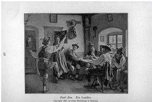 Ländler - Ein Landler (1897)