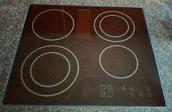 Induction Hob Pan Boiled Dry Ring On Glass