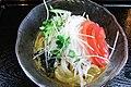 Goma-dare bukkake udon by woinary in Kochi Ryoma Airport.jpg