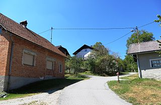 Gornji Ig Place in Inner Carniola, Slovenia