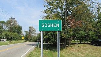 Goshen, Ohio - Image: Goshen OH1