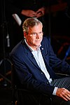 Governor of Florida Jeb Bush, Announcement Tour and Town Hall, Adams Opera House, Derry, New Hampshire by Michael Vadon 03.jpg