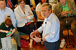 Governor of Florida Jeb Bush, Announcement Tour and Town Hall, Adams Opera House, Derry, New Hampshire by Michael Vadon 26.jpg