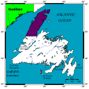 Great Northern Peninsula - Image: Gr North Peninsula Newfld