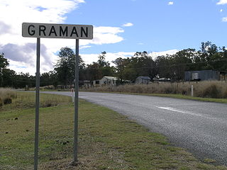 Graman, New South Wales Town in New South Wales, Australia