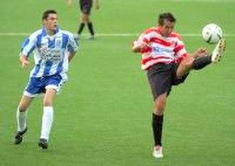 2005–06 Tercera División - Alhaurín de la Torre CF and Granada CF playing a match.