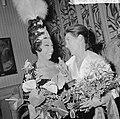 Grand Gala du Disque in Concertgebouw Uitreiking Edisons Josephine Baker (l) f, Bestanddeelnr 916-9664.jpg