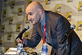 Grant Morrison at the San Diego Comic-Con International, California - 20100623.jpg