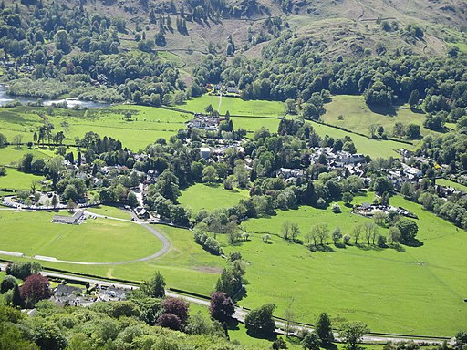 Grasmere from near Alcock Tarn