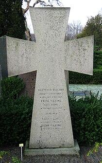 Grave of swedish bishop Gottfrid Billing lund sweden.jpg