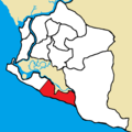 Greater Monrovia District - Congo Town highlighted.png