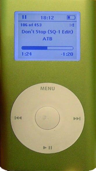 IPod Mini - 1st generation iPod Mini
