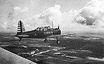 Greenville Army Airfield - Vultee BT-13 in Flight.jpg