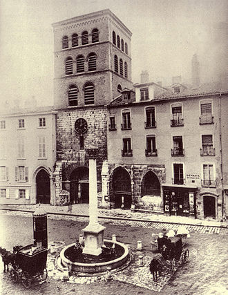 Roman Catholic Diocese of Grenoble-Vienne - Image: Grenoble Notre Dame 1880