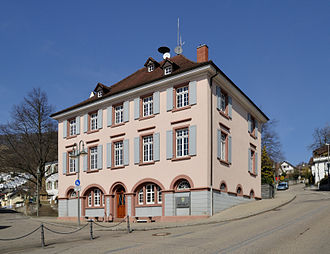 Grenzach-Wyhlen - Town hall in Grenzach