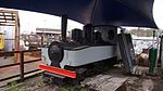 Grey steam locomotive of Leighton Buzzard Light Railway.JPG