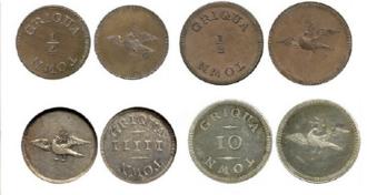 Griqua coinage - A Set of Griqua Tokens