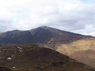 Grisedale Pike mountain in United Kingdom