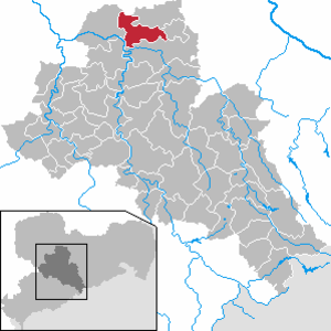 Großweitzschen - Image: Großweitzschen in FG