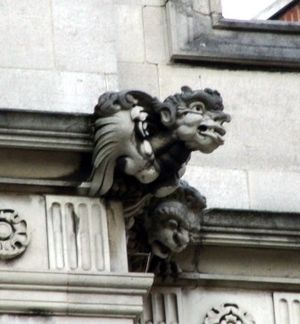 Nathaniel Hitch - Image: Grotesque by Nathaniel Hitch 2 Temple Place. Embankment. London