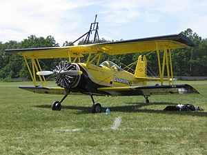 Grumman Ag Cat - An Ag Cat set up for wingwalking