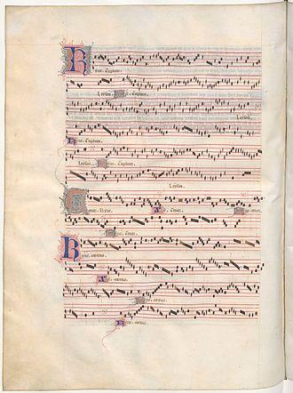 Messe de Nostre Dame - The Kyrie from Machaut's Messe de Nostre Dame