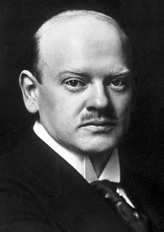 German–Polish customs war - German Foreign minister Gustav Stresemann